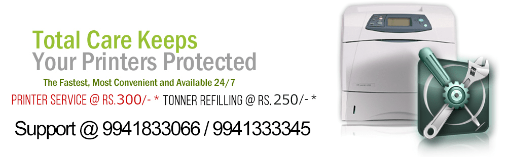 cartridge refilling for Hp, Canon, Epson, samsung, brother Printers in chennai, velachery, nungambakkam, tambaram, anna nagar