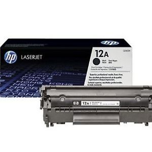HP 12A Black Original LaserJet Toner Cartridge Q2612A Price in Chennai, Velachery