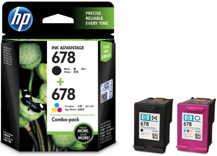 HP 678 Combo Pack Multi Color Ink Cartridge Price in Chennai, Velachery