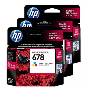 HP 678 Tri color Original Ink Advantage Cartridge CZ108AA Price in Chennai, Velachery